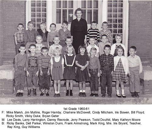 1st Grade 1960-61