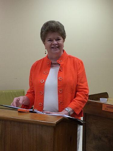 Sue Trott CWC presentation